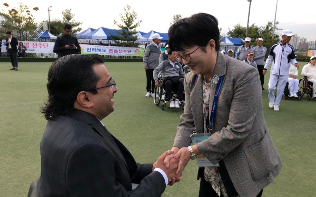 제39회 전국장애인체육대회 내빈 방문